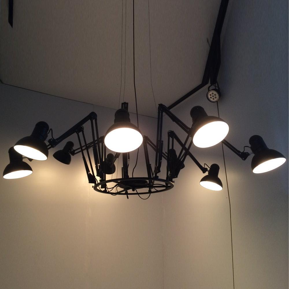 蜘蛛9燈造型金屬吊燈/Dear Ingo(PO23101)