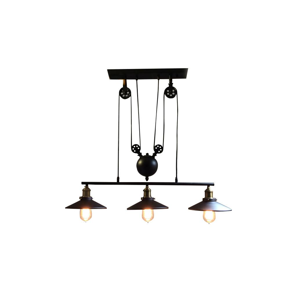 達文西北歐復古造伸縮金屬吊燈(PO16101)