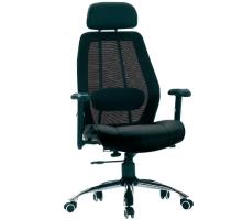 頭部靠墊網背電腦椅/辦公椅