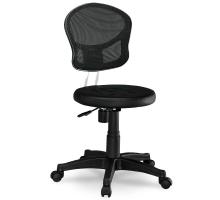 小巧黑色網布電腦椅/辦公椅