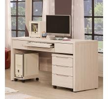 米風白雪杉4.4尺書桌/電腦桌(主桌)
