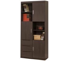 米風黑鐵刀2.7尺書櫥/書櫃