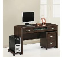 蓋亞4.2尺電腦桌全組-3件式2色