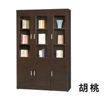 瑞亞4X6尺開門書櫃/書櫥/收納櫃-2色