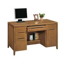 羅根4.5尺實木辦公桌
