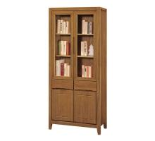 亞拉爾2.7尺中抽書櫃/書櫥/收納櫃