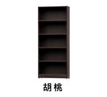 尼爾2尺木心板置物架/書櫃/書櫥-2色