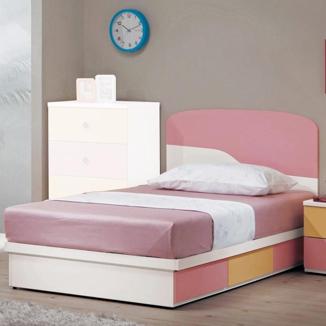 安妮塔3.5尺床片型單人床