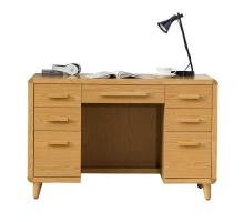 洛伊原木色4尺書桌