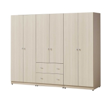 羅本銀杉7.5x6尺組合衣櫃/衣櫥