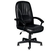 可麗黑皮辦公椅/電腦椅