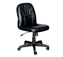 狄倫黑皮辦公椅/電腦椅