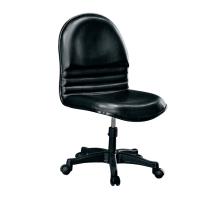 米亞黑皮辦公椅電腦椅