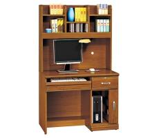 艾莉雅樟木實木3.2尺電腦桌/書桌