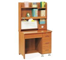 戴肯柚木書桌組/電腦桌
