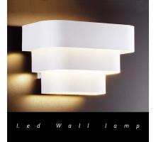 薩米白色造型壁燈
