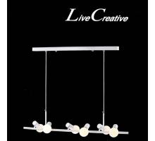 圖倫尼白色造型吊燈