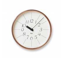【Lemnos】渡邊力純銅時鐘