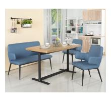 歐克斯4.5尺餐桌椅組(1桌3椅)