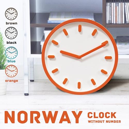 NORWAY挪威極簡凹凸時鐘掛鐘