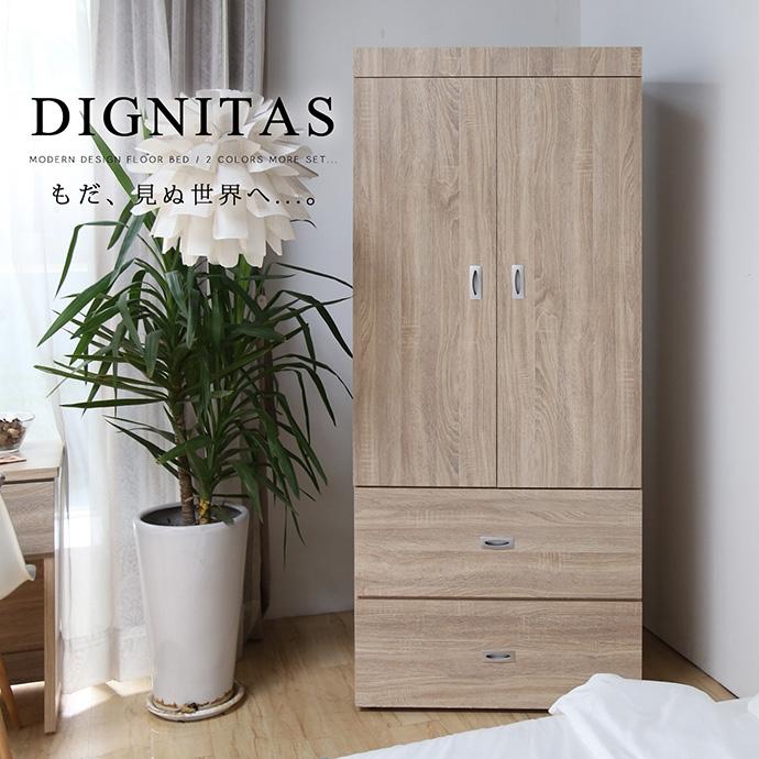狄尼塔斯3X6尺衣櫃/梧桐色 DIGNITAS