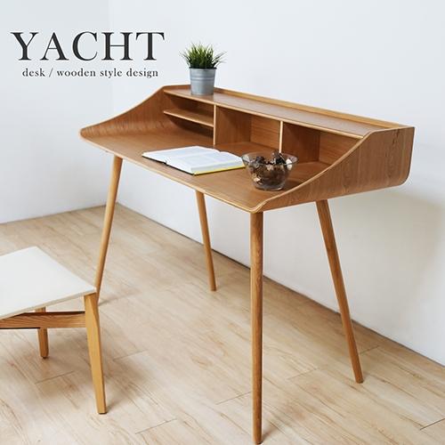 自然木作Yacht帆船造型書桌/電腦桌