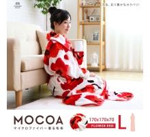 MOCOA摩卡毯。長版超細纖維舒適懶人毯/睡袍-14色