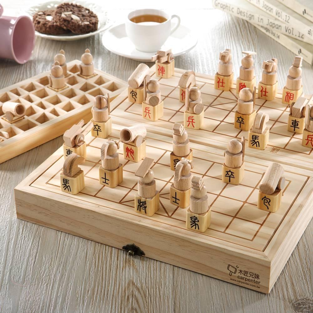 【木匠兄妹】立體象棋