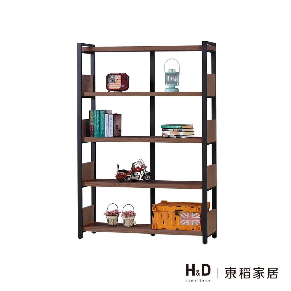 戈梅爾胡桃色書架-DIY自行組裝