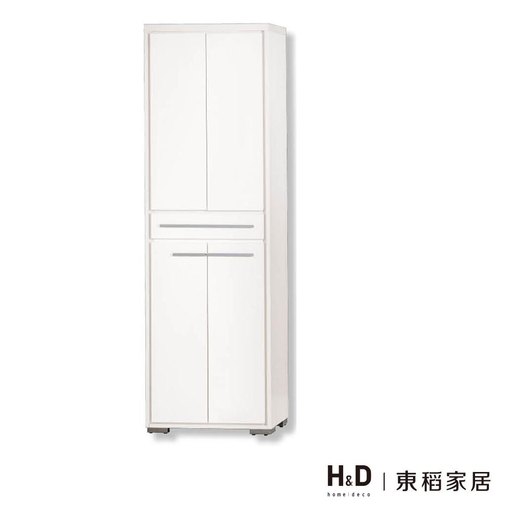明日香2*6.5尺雙面白色鞋櫃