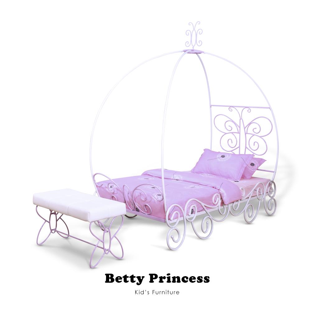 【Kids Neverland】貝蒂公主單人床架