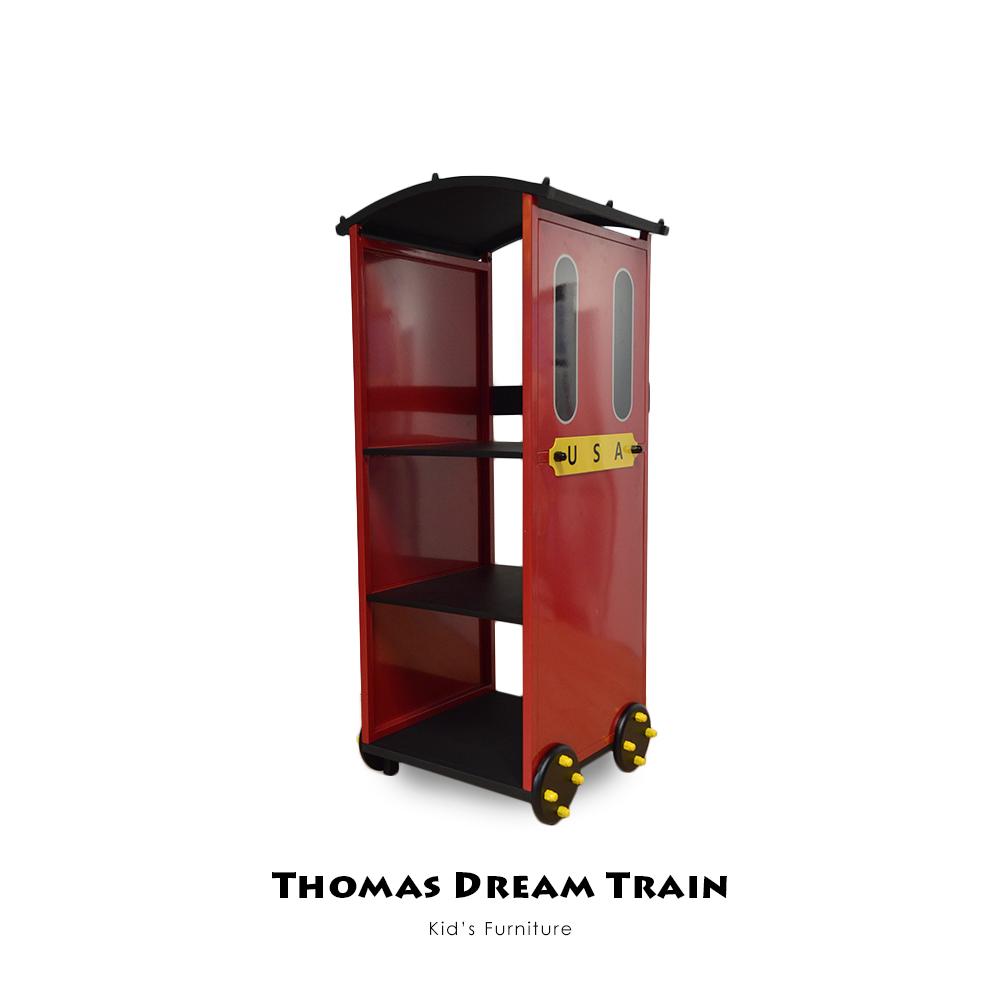 【Kids Neverland】湯瑪士小火車三層置物架