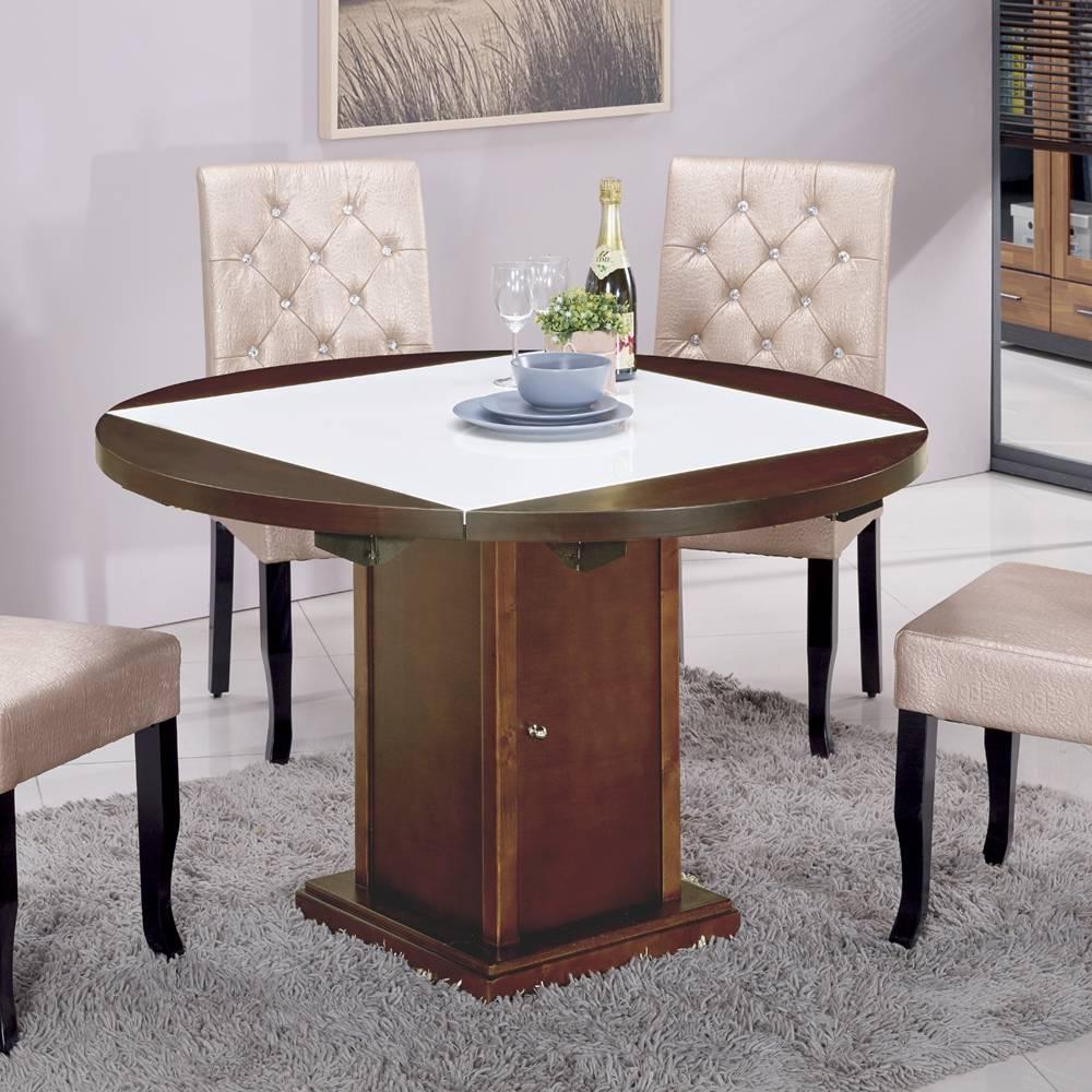 馬吉胡桃漢白玉原石方形四垂桌