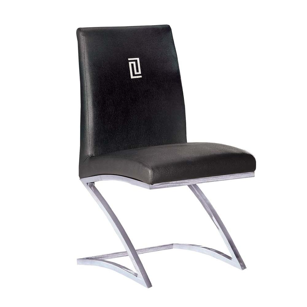 馬汀尼黑皮餐椅