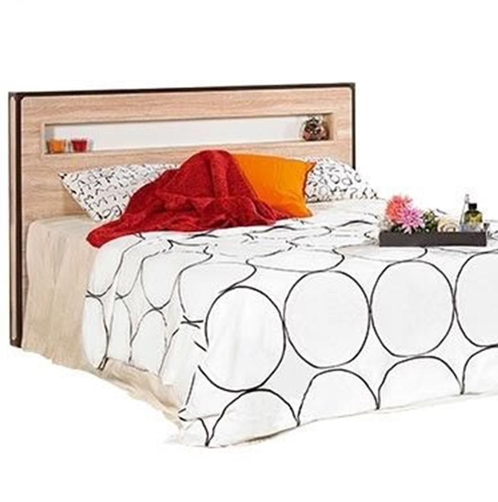 溫蒂5尺橡木紋雙人床頭片