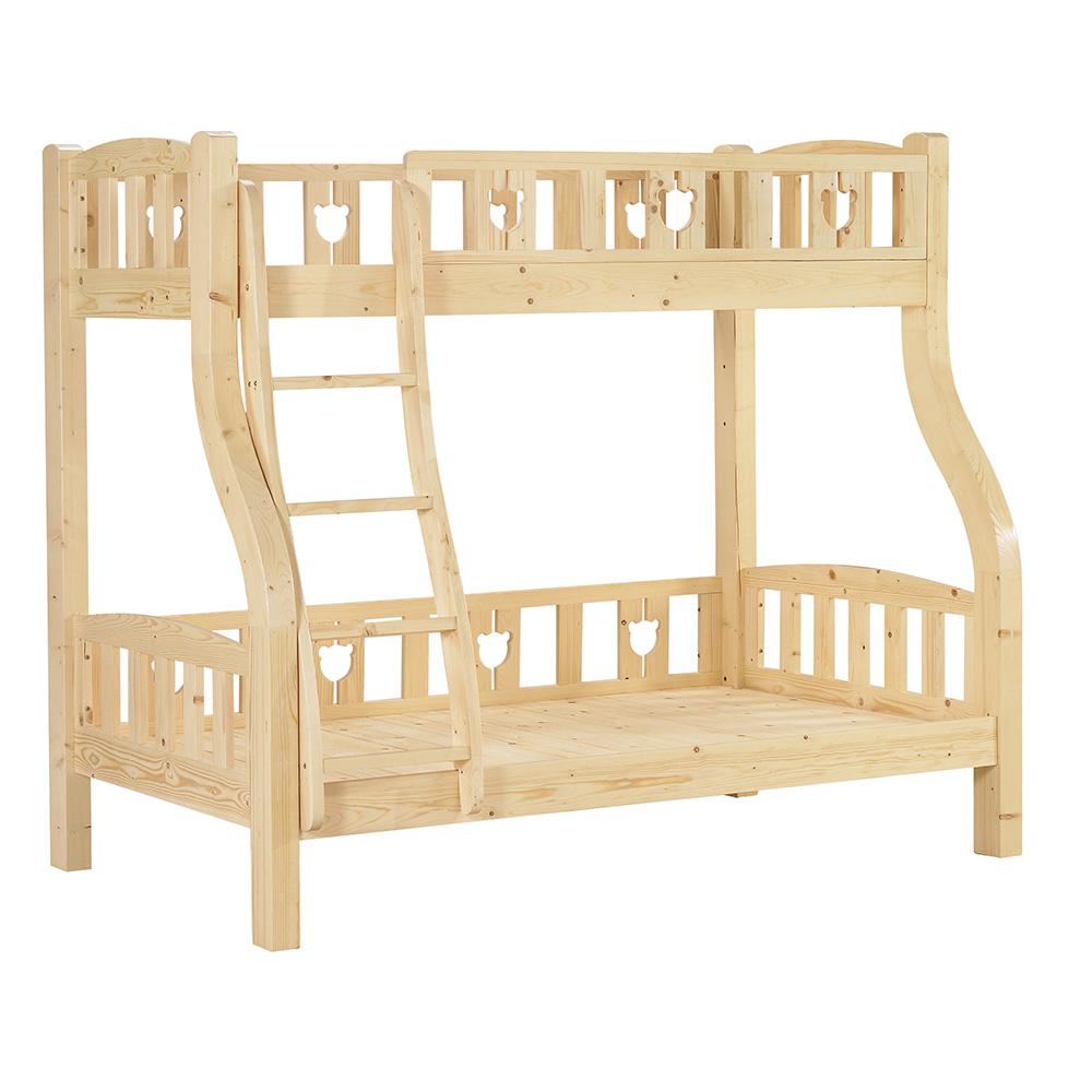 松木紋雙層床架
