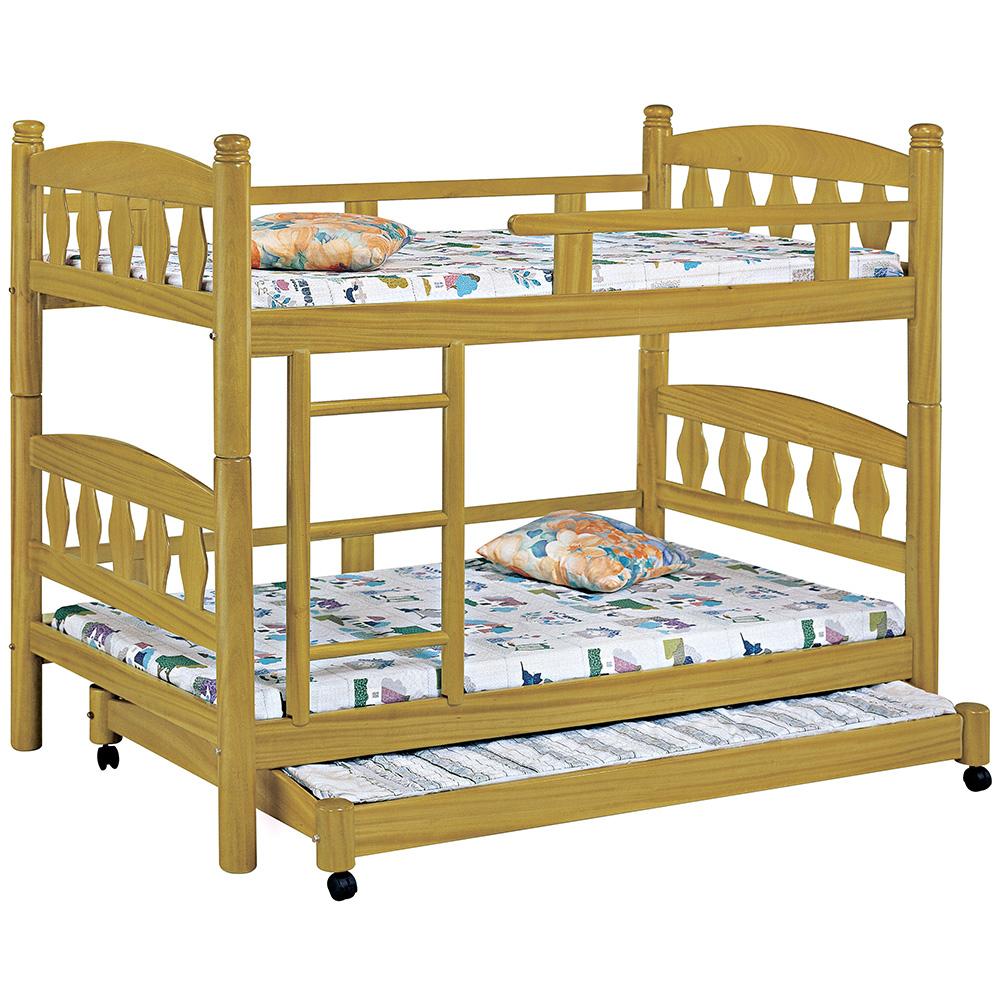 鳥心石單人雙層床/含子床