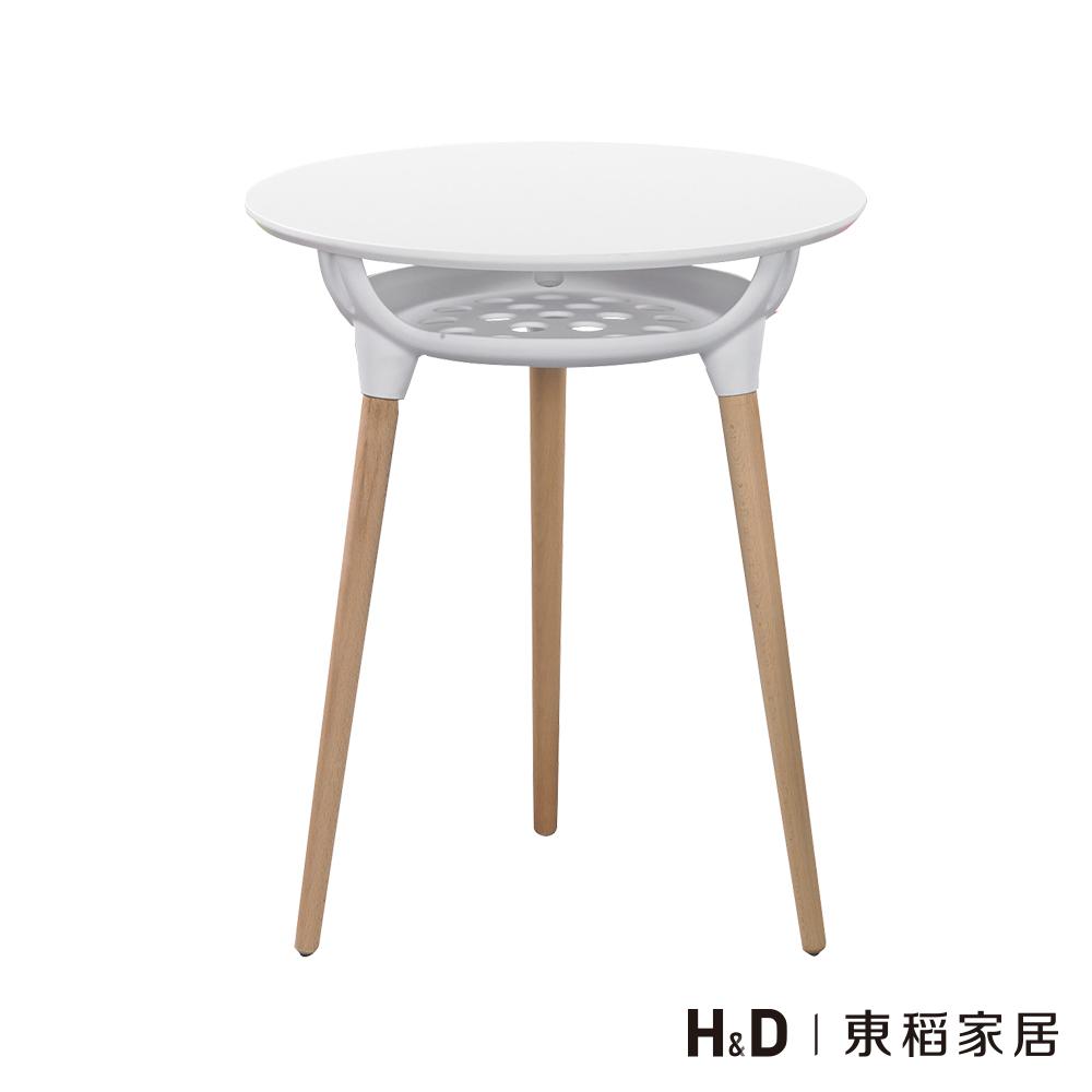 艾西斯白色造型圓桌
