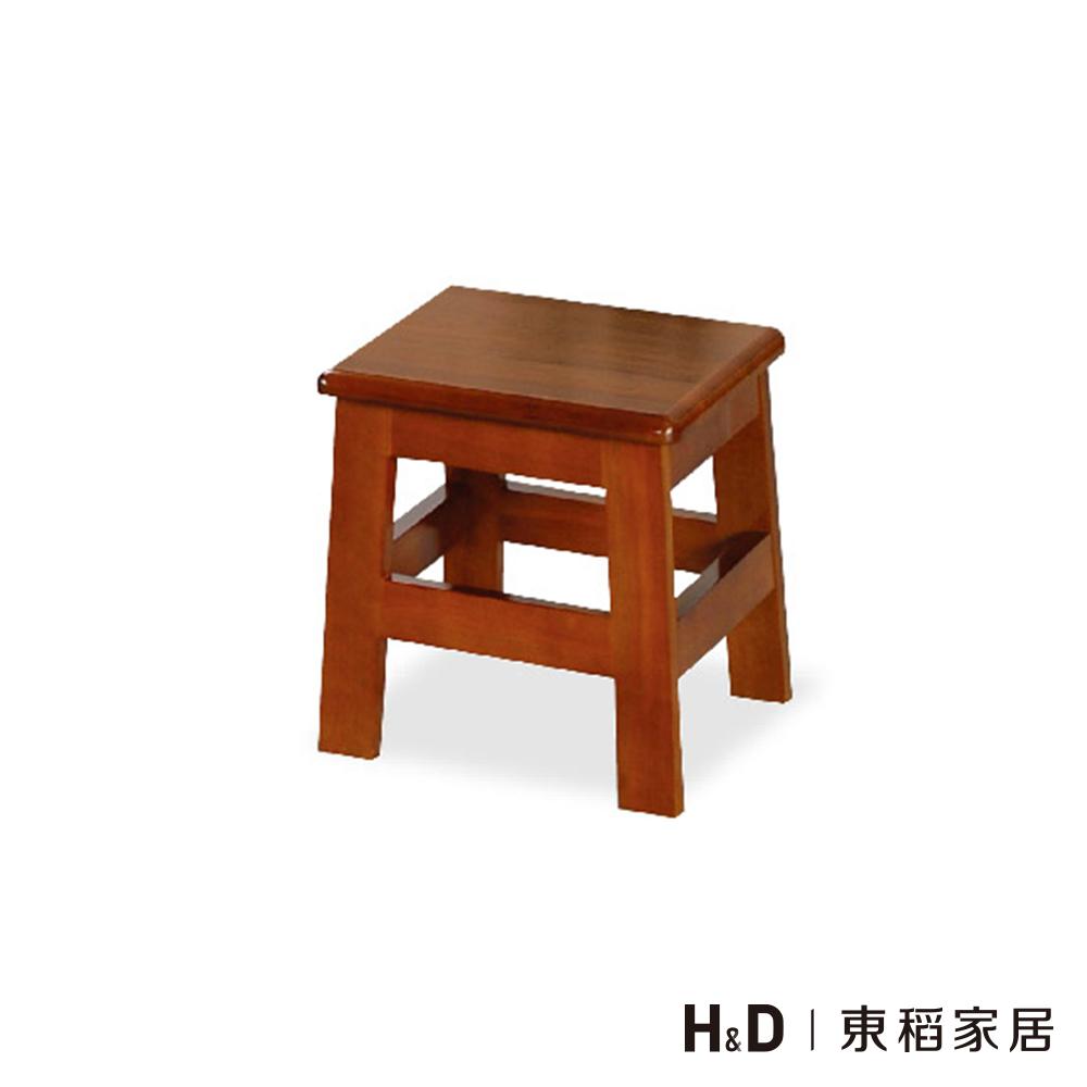 田園油木方低板凳(30cm)