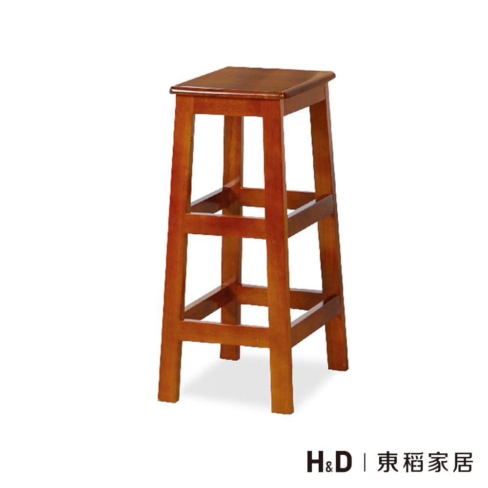 田園油木方高板凳(75cm)