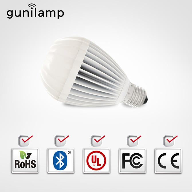 Hot Air Balloon熱汽球造型LED藍芽情境燈泡/Gunilamp