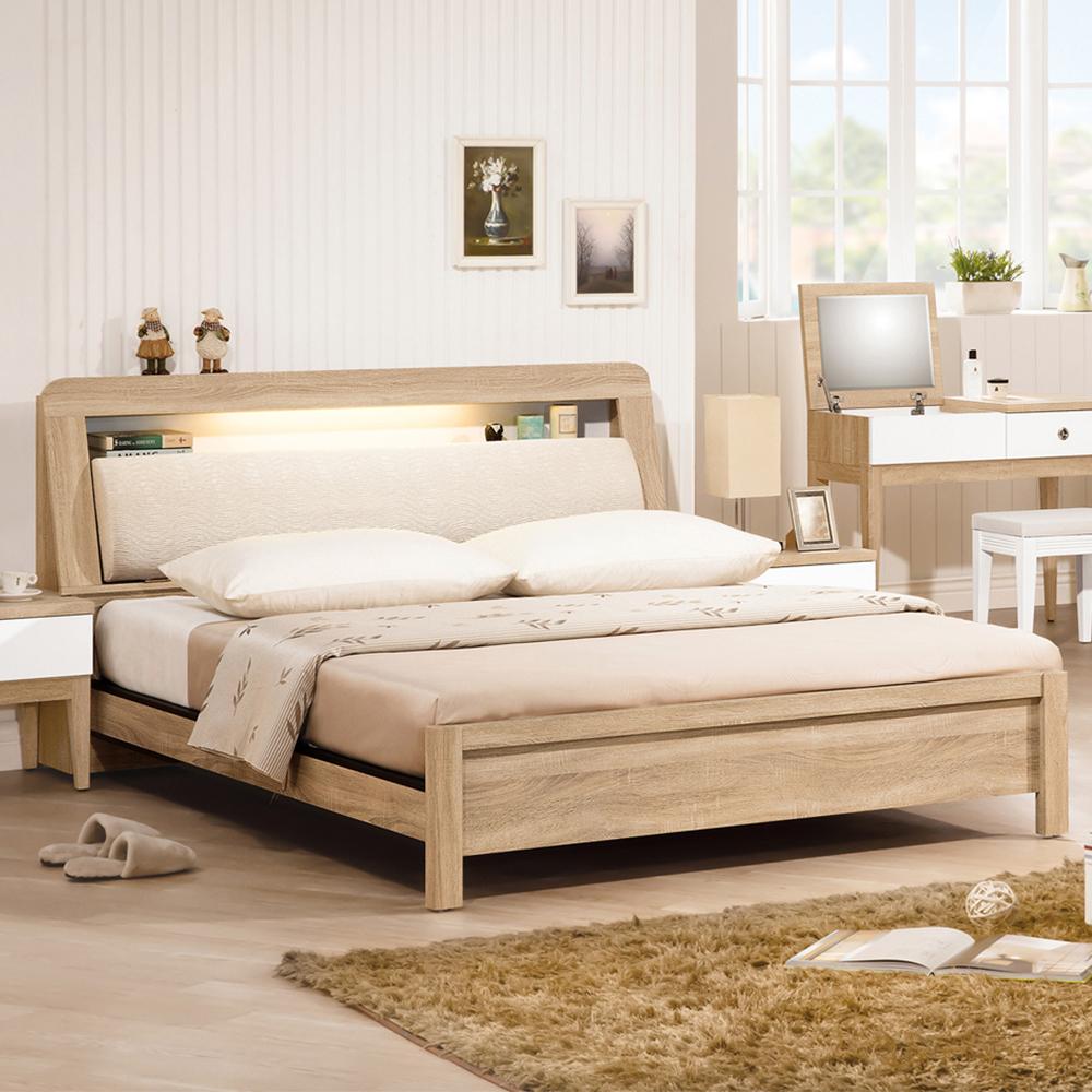 金美5.4尺床頭式床台