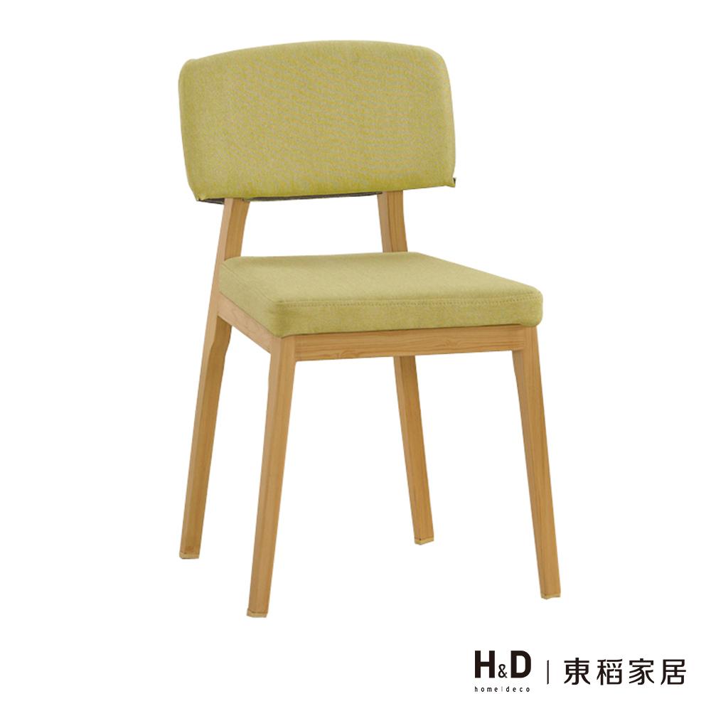 哈利綠色布餐椅