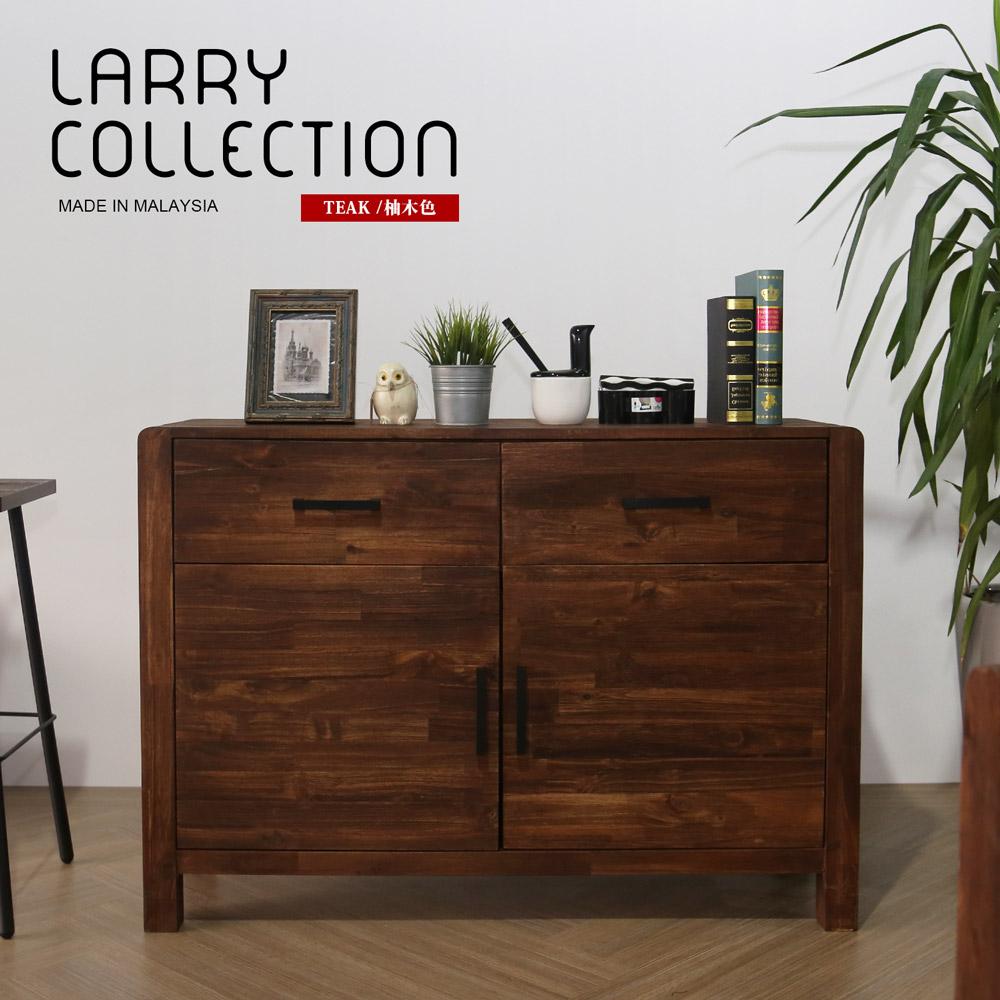 鄉村系列實木4尺餐櫃/LARRY
