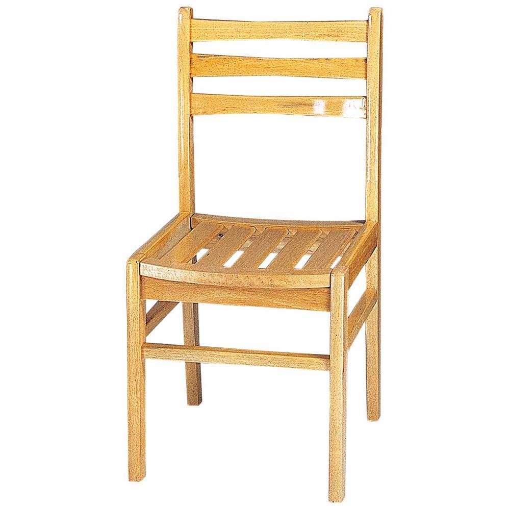 簡約三橫式餐椅