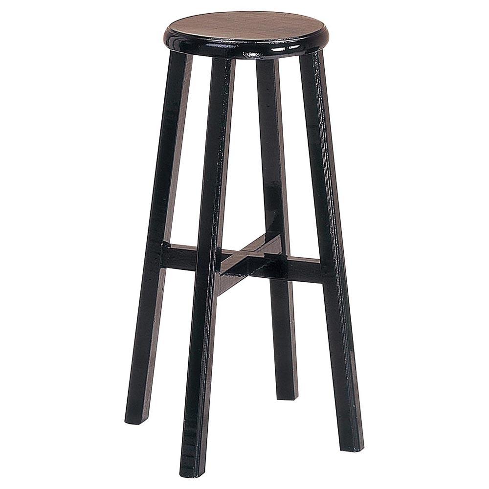 平面加高古餐椅