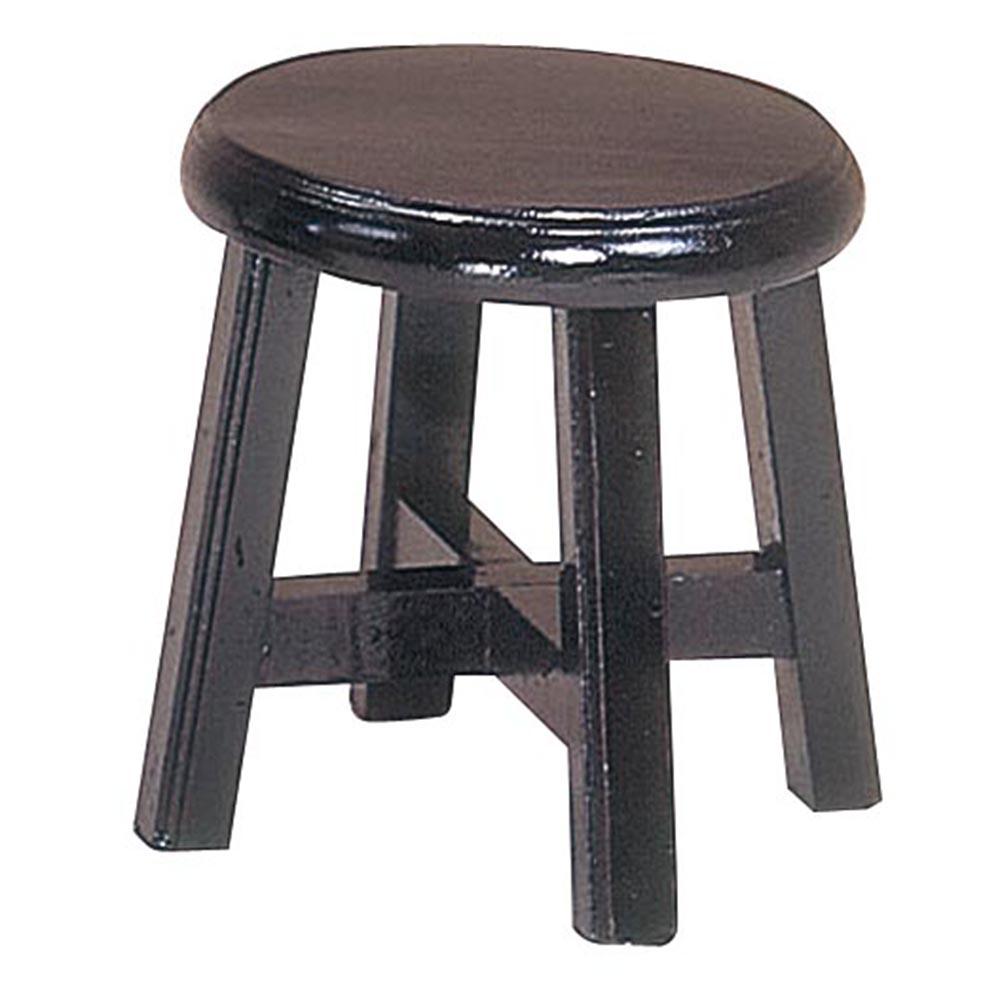 平面低古餐椅