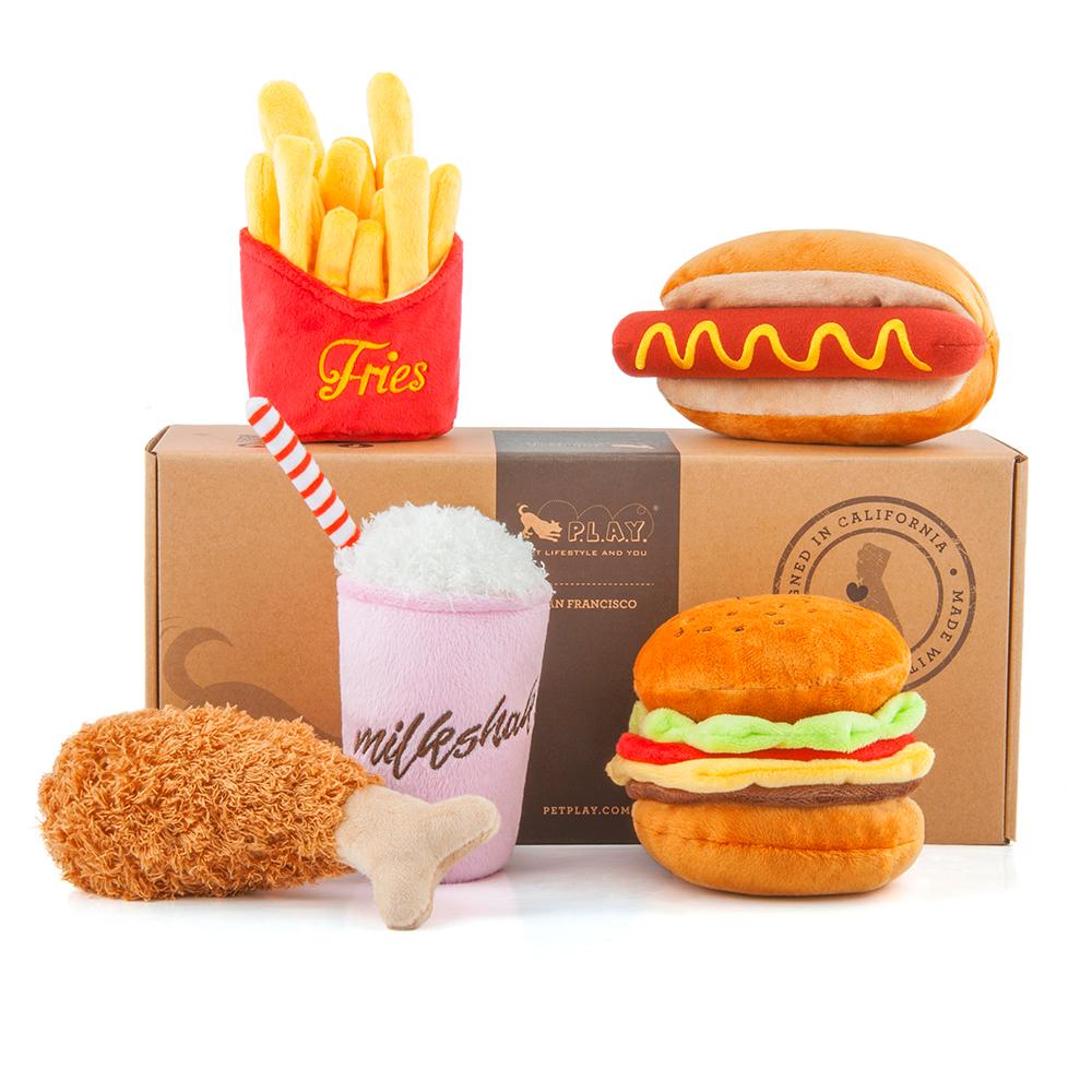 美式速食-5件分享餐(5款各1含禮盒)