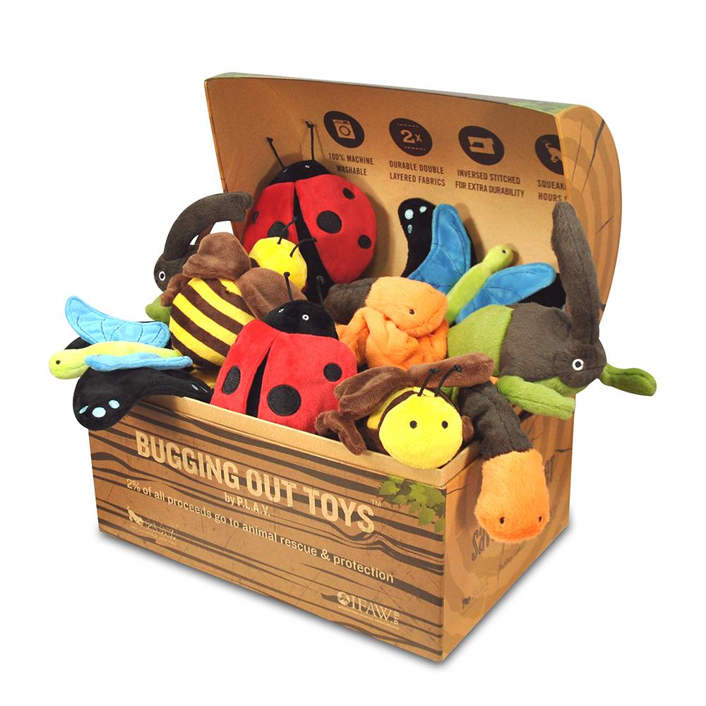 蟲蟲危機-15件組(5款各3含展示盒)