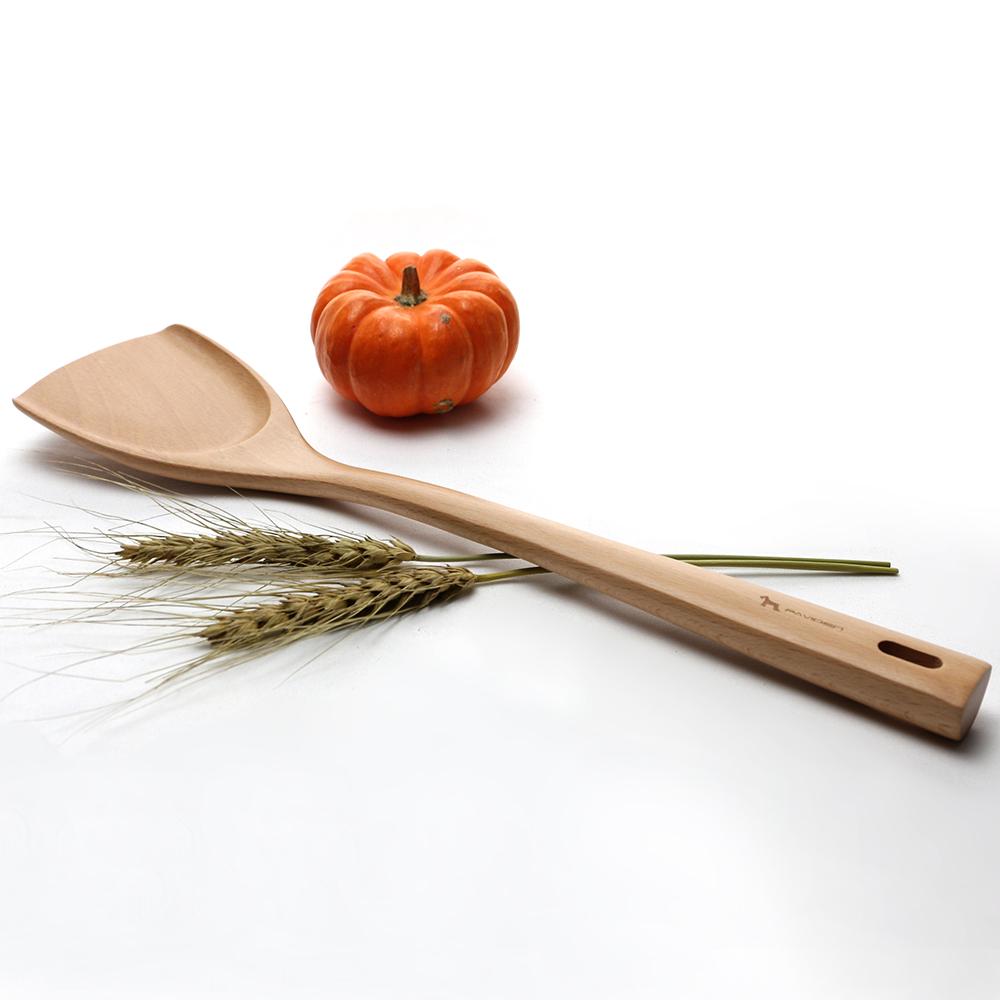 雪芙中華烹飪鍋鏟XL【山毛櫸】木鏟